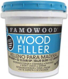 FamoWood Latex Wood Filler