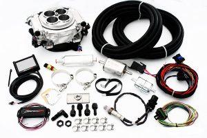 Holley Sniper Polished EFI Fuel Injection Master Kit 550-510K