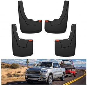KIWI MASTER Mud Guards Flaps Compatible for 2019-2021 Dodge Ram 1500