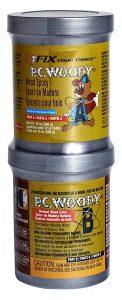 PC-Woody Wood Repair Two-Part Epoxy Paste