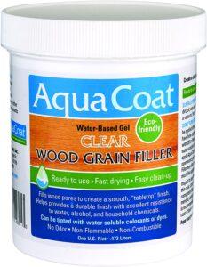 Aqua Coat Water-Based Wood Filler